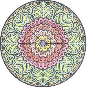 Coloring Page Mandala0001